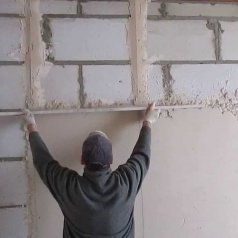 Гипсовая штукатурка для выравнивания стен